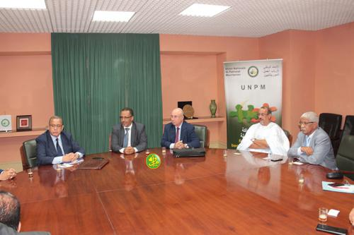 Séance de travail entre les employeurs mauritaniens et leurs homologues tunisiens au siège de l'UNPM