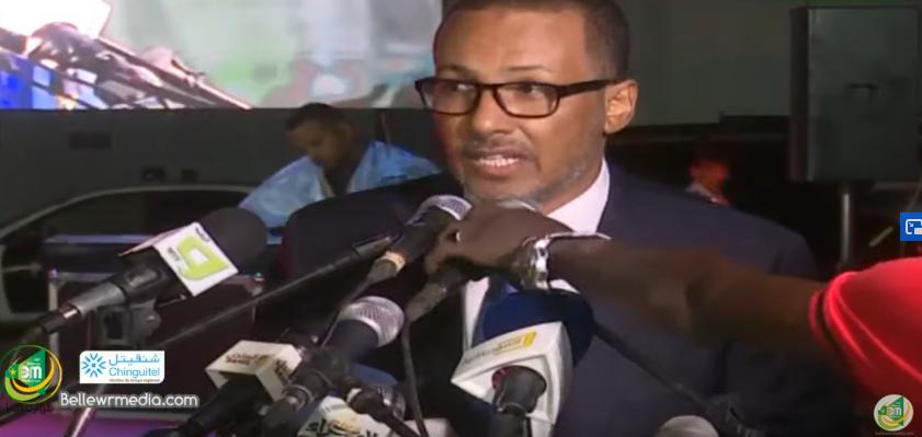 Le discours du président de l'Union nationale du patronat Mauritanien Mohamed Zine El Abidine Ould Cheikh Ahmed