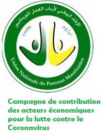 Campagne de contribution des acteurs économiques  pour la lutte contre le  Coronavirus